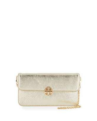 Tory Burch Metallic Envelope Clutch Bag, Spark Gold $275 thestylecure.com