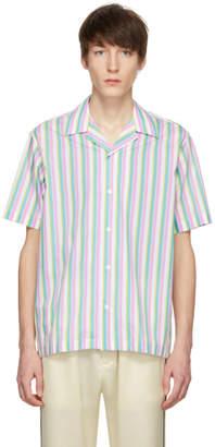 Cmmn Swdn Multicolor Dusty Open Collar Shirt