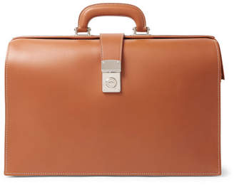 Connolly - Leather Briefcase - Tan