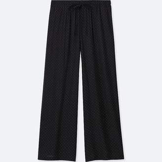Uniqlo Women's Drape Wide Dot Pants