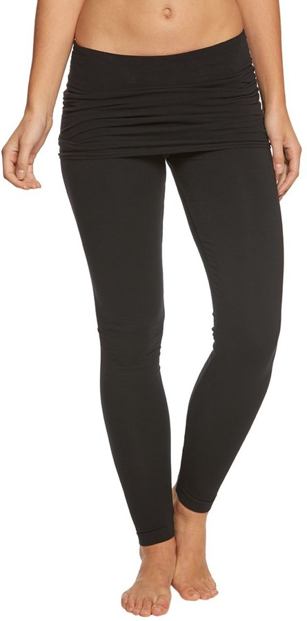 Hard Tail Overlay Skinny Yoga Leggings 8165080