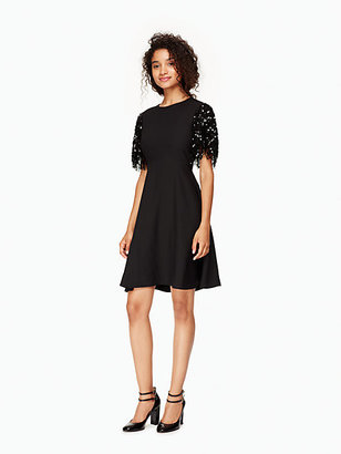 Sequin fringe swing dress $398 thestylecure.com