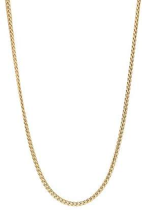 "John Hardy Classic Chain 18K Yellow Gold Mini Necklace, 18"""