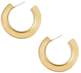 Soko Paddle Hoop Earrings