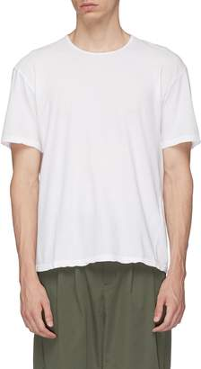Attachment Twist border T-shirt