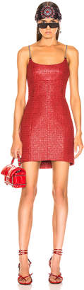 Alexander Wang Chain Strap Bodycon Dress in Red | FWRD