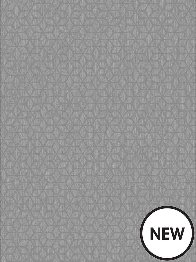 Small Geo Wallpaper - Grey