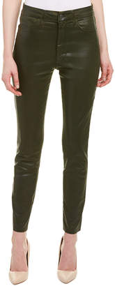 Joe's Jeans The Charlie Olive High-Rise Skinny Ankle Cut