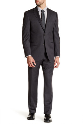 Ike Behar Solid Wool Suit $379.97 thestylecure.com