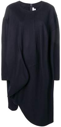 Comme des Garcons long-sleeve flared sweater dress