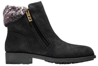 Cole Haan Quinney Waterproof Bootie with Faux Shearling Trim (Women)