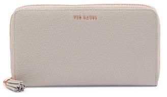 Ted Baker Sheea Tassel Zip Around Leather Matinee Wallet