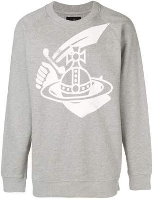 Vivienne Westwood front printed sweatshirt