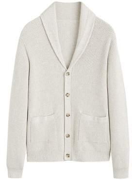 1c778e0fe0 Mango Man MANGO MAN Cotton chunky knit cardigan