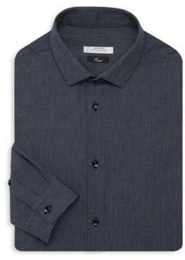 Versace Woven Cotton Dress Shirt
