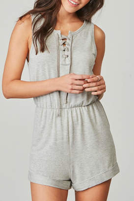 BB Dakota Zuela Grey Romper