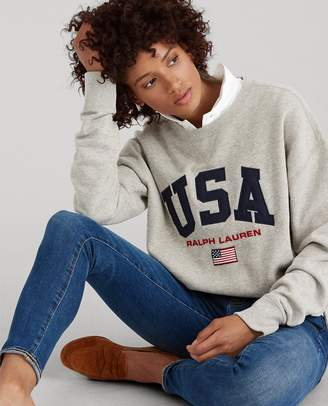 Ralph Lauren USA Fleece Sweatshirt