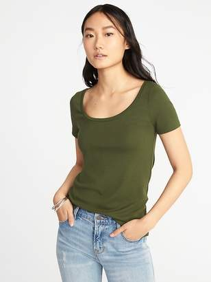 Old Navy Slim-Fit Scoop-Neck Tee for Women