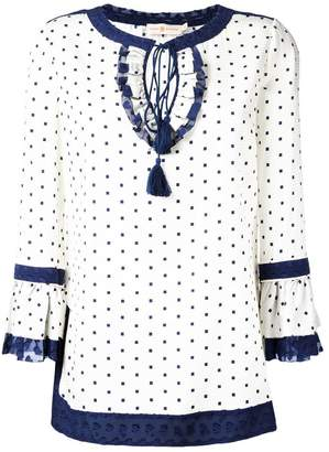 Tory Burch square dot tunic