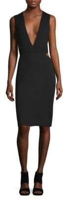 Elizabeth and James Amber Cut-Out Sheath Dress