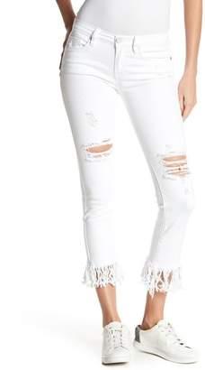 Blank NYC BLANKNYC Denim Fray Hem Straight Leg Jeans