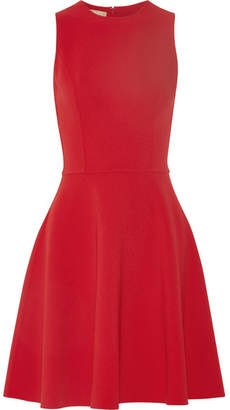 Michael Kors Collection - Stretch-wool Dress - Red $1,650 thestylecure.com