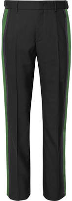 Stella McCartney Stevie Stripe-Trimmed Wool Trousers