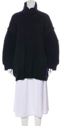 Stella McCartney Bouclé-Accented Wool Tunic