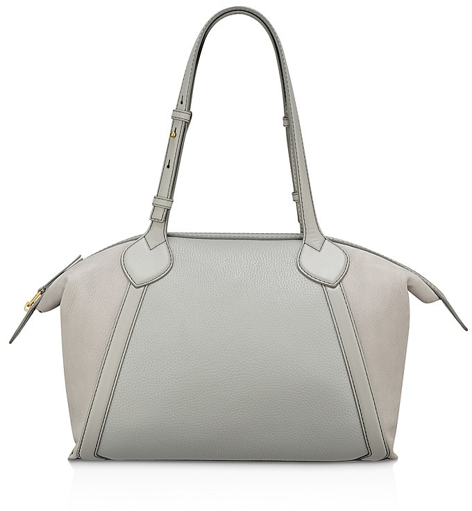Anne Klein Anne Klein Lucille Zip Leather Tote