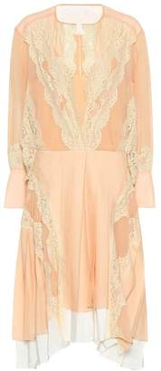 Chloé Flou silk-blend mousseline dress