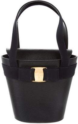 Salvatore Ferragamo Vara Bow Mini Handle Bag