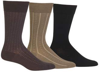 Polo Ralph Lauren 3 Pack Patterned Dress Men Socks