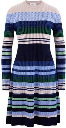Sportmax Pau blended wool dress