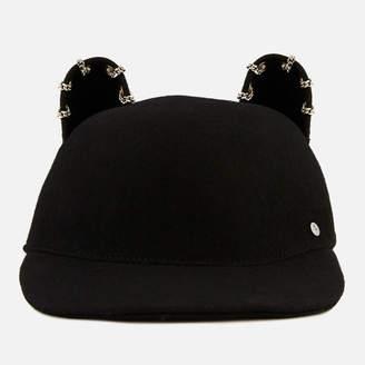 Karl Lagerfeld Women's Choupette Chain Cap - Black - S - Black