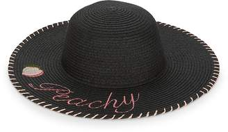 BCBGeneration Women's Peachy Floppy Sun Hat