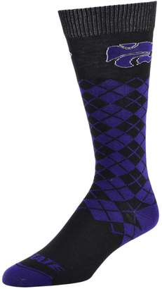 NCAA Women's Mojo Kansas State Wildcats Argyle Socks