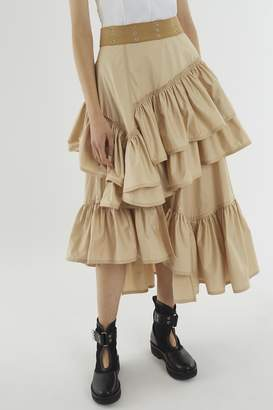 3.1 Phillip Lim Multi-Layered Flamenco Skirt