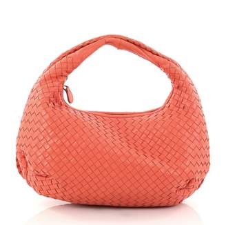 Bottega Veneta Pink Leather Handbag
