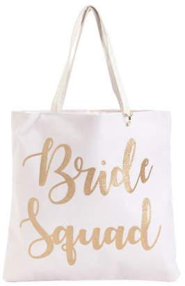 Bride Squad Reversible Canvas Tote