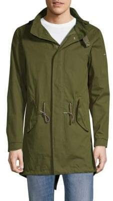 Scotch & Soda High-Low Hooded Parka