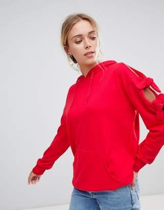 Glamorous longline hoodie