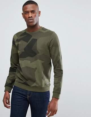 Esprit Sweatshirt In Camo