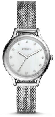 Fossil Laney Three-Hand Stainless Steel Watch