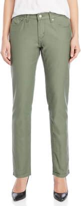 Levi's Bronze Green Fade Boyfriend Jeans