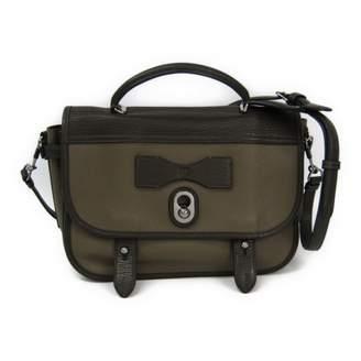 Loewe Khaki Leather Handbags