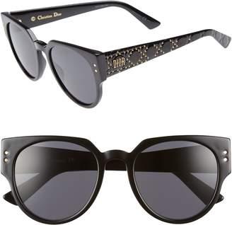 Christian Dior Lady 52mm Cat Eye Sunglasses