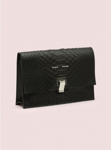 Proenza Schouler Small Lunch Bag Python