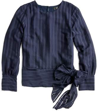 J.Crew Shadow Stripe Top