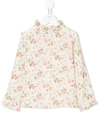 Bonpoint floral long-sleeve top