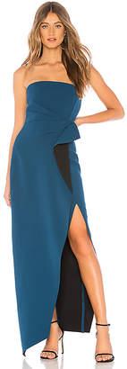 Aijek Camille Bustier Gown